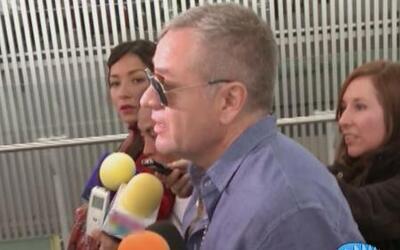 El Güero Castro, más delgado, lamenta mucho la perdida de Angelique Boye...