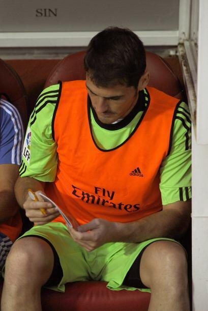 Para sorpresa de propios y extraños, Iker Casillas volvió...