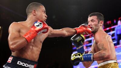 Félix Verdejo dominó con el jab a William Silva