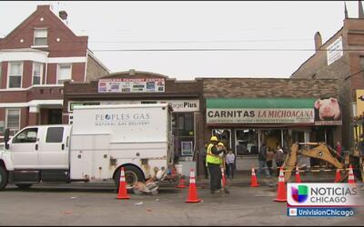 Voraz incendio consume restaurante en Pilsen