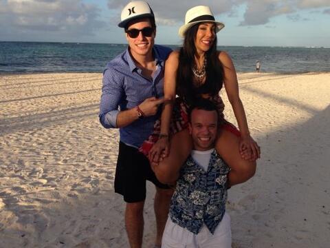 Danilo, Gelena y Carlitos hicieron de las suyas en el primer día...