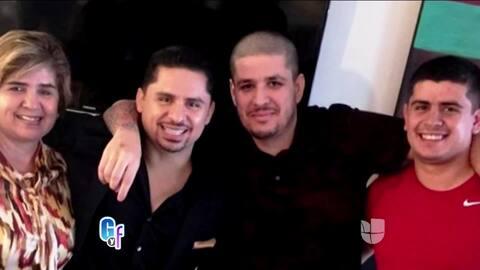 Larry Hernández publicó en sus redes el reencuentro con su hermano que s...