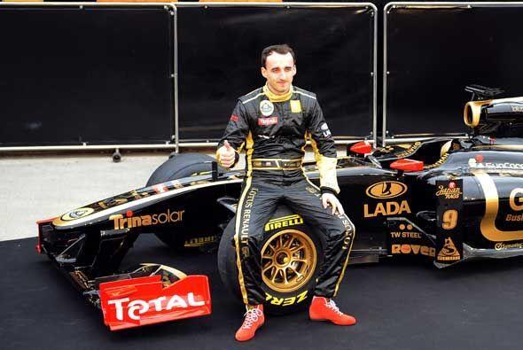 Kubica, de 26 años, un apasionado de los rallies y debía v...