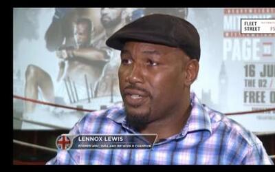 Lenox Lewis ve gran futuro en Anthony Joshua y Tyson Fury