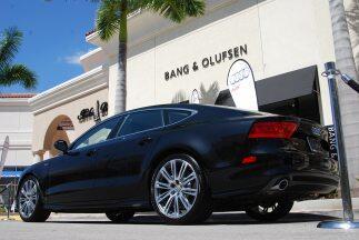 El nuevo Audi A7 fue la estrella en la ignauguración de la marca Bang &...