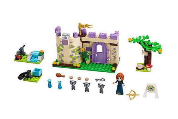 El castillo de Brave. Una buena opción para las fanáticas...