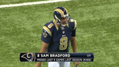 Sam Bradford highlights