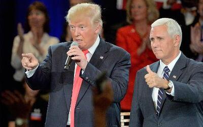 """Donald Trump califica a Hillary Clinton de """"desleal"""", ¿Por qué?"""