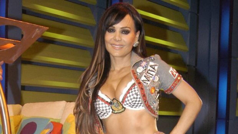 La actriz no aceptó una botella de vino que le envió Ricardo Arjona.
