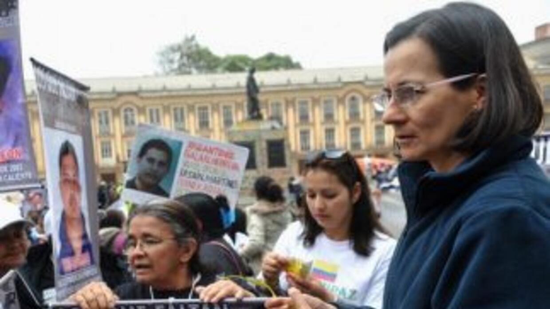 La congresista colombiana Clara Rojas.