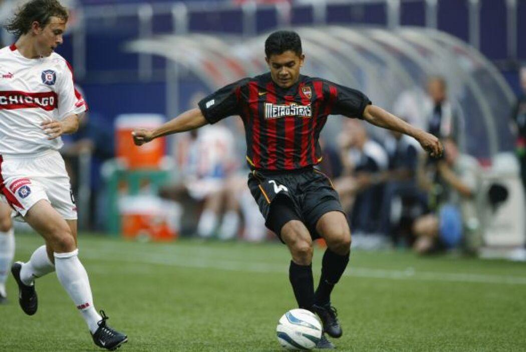 El hondureño Amado Guevara tuvo la oportunidad de jugar estos partidos r...