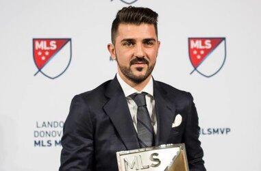 David Villa, MVP de la MLS en la temporada 2016.