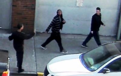 Los tres sospechosos del ataque en Astoria