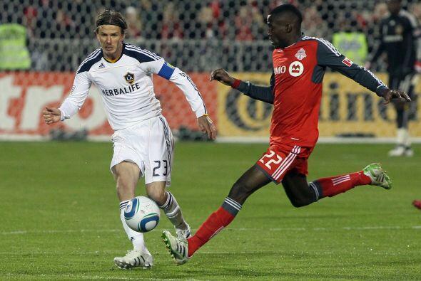 Fue el primer juego de David Beckham en Toronto desde el Juego de Estrel...