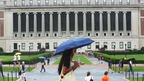 El rector de la Universidad de Columbia aseguró en una carta que...