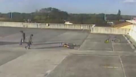 Se presenta en corte sospechosos de vandalizar extintores en Centro Mila...