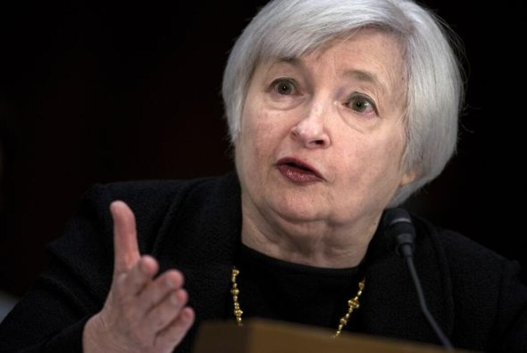 2.- JANET YELLEN: Está al frente de la Reserva Federal de Estados Unidos...