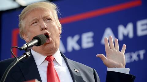 """Donald Trump: """"Es una elección amañada"""""""