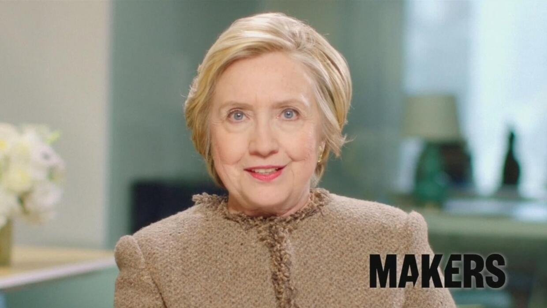 Hillary Clinton invita a las mujeres a atreverse y ser líderes audaces