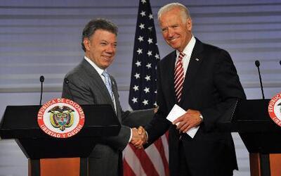 Joe Biden respalda el proceso de paz de Colombia