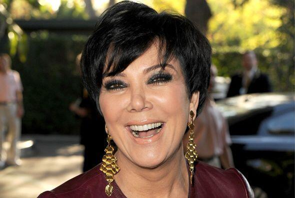 10.- Kris Jenner sí que nos sorprendió. De este lado, noso...