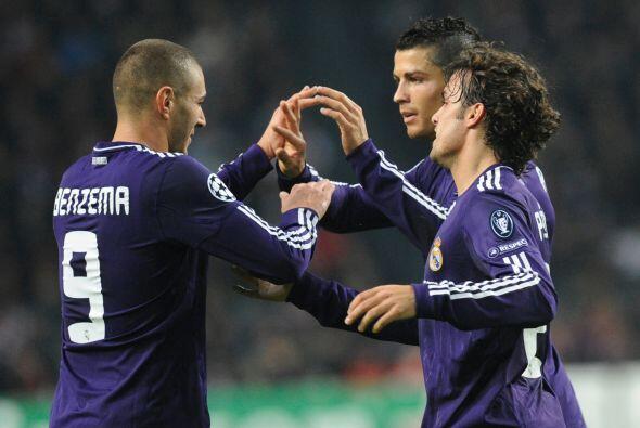 Karim Benzema abrió la cuenta para los 'merengues'.