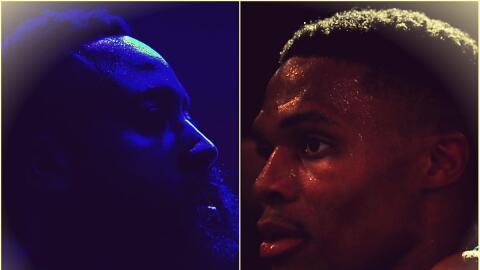 James Harden y Russell Westbrook luchan por el MVP