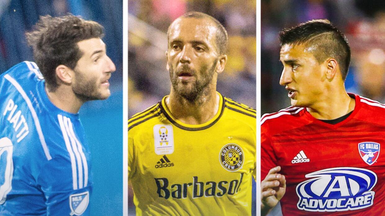 10 argentinos en la MLS