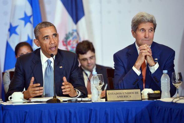 Barack Obama y John Kerry llegaron a Panamá con la consigna de hacer his...