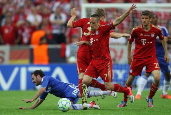 Ribery fue de los mejores del Bayern, creando juego y generando oportuni...