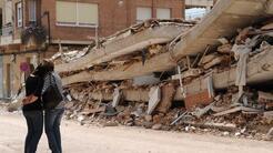 Un par de sismos que resultaron devastadores, desastres por la crecida d...