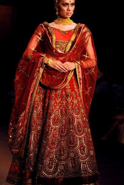 vestidos de novia india