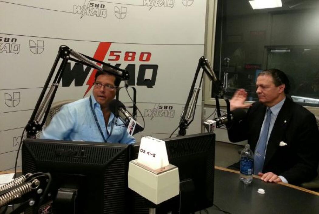 El presidente del Banco Popular de Puerto Rico dijo en la entrevista de...