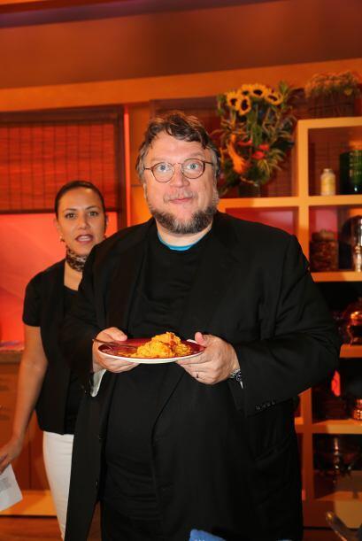 Guillermo dio su aprobación al platillo del Chef Pepín.