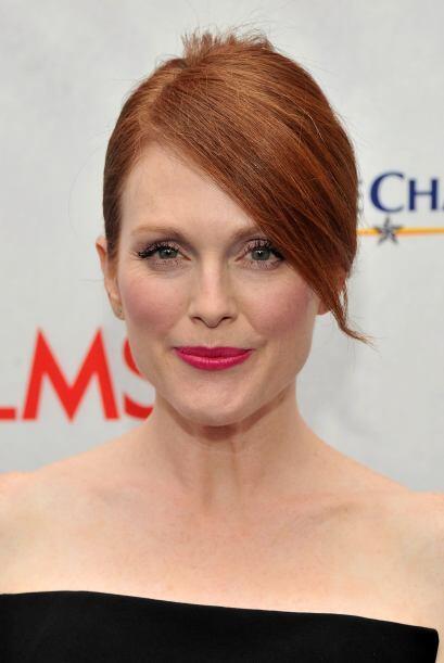 Julianne Moore: No es que esta actriz no se interese por su aspecto, más...