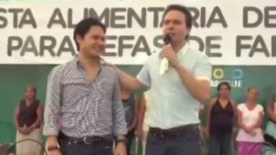 Manuel Velasco nuevamente le pidió una disculpa a Luis Humberto Morales...
