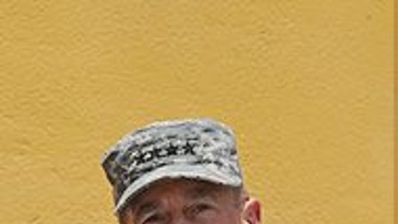 General Petraeus mostró parte de su estrategia de guerra en Afganistán 9...