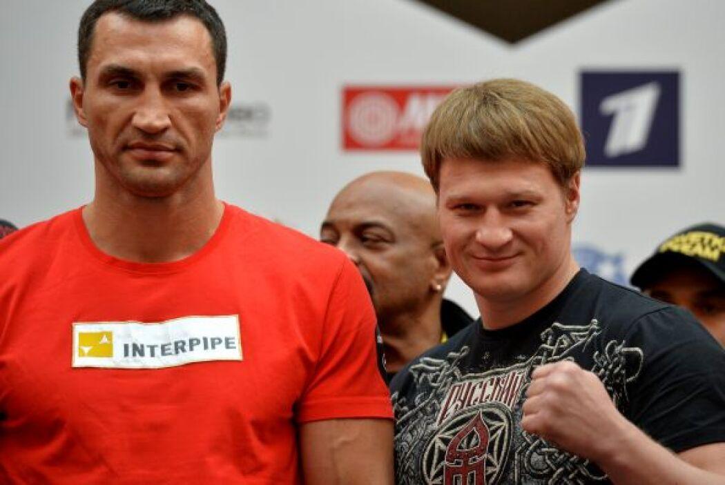 Alexander Povetkin es el mejor boxeador de la categoría que ha enfrentad...