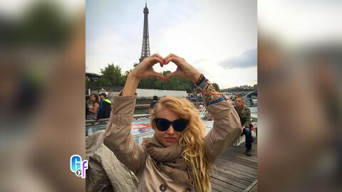 Paulina Rubio está disfrutando de unas merecidas vacaciones en París