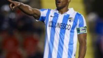 Baptista hizo un gol y vuelve a ser importante para el Málaga.