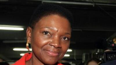 La responsable de las operaciones humanitarias de la ONU, Valerie Amos.