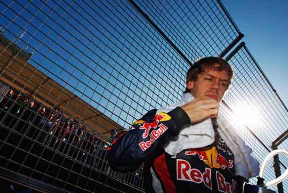 El alemán Sebastian Vettel, campeón defensor de la F&oacut...