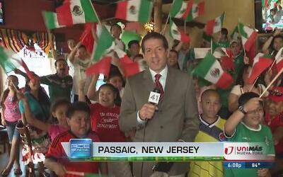 Mexicanos viven empate con sabor a victoria