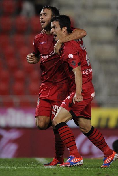 Y ahora pasando a la Liga española, el extremo Alejandro Alfaro se lució...