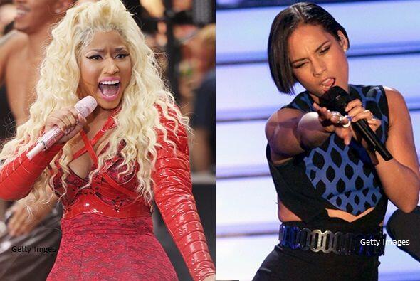 Nicki Minaj y Alicia Keys lanzaron el tema 'Girl On Fire', el cual es un...