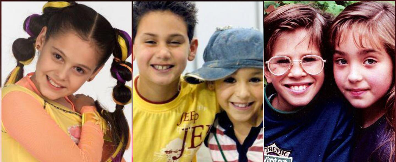 Cuánto han cambiado los protagonistas infantiles de estas telenovelas