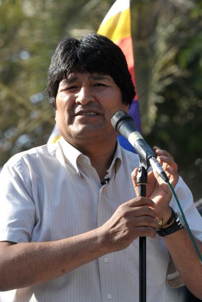 Evo Morales prometió 'con seguridad el gobierno nacional va a ent...