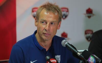 Klinsmann da lista para campamento de EEUU