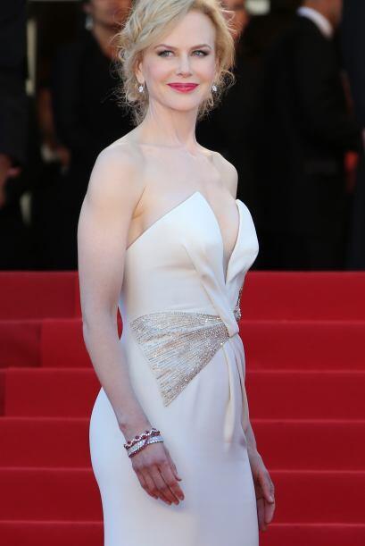 """La bella Nicole Kidman, mostró su talento musical en la cinta """"Mo..."""