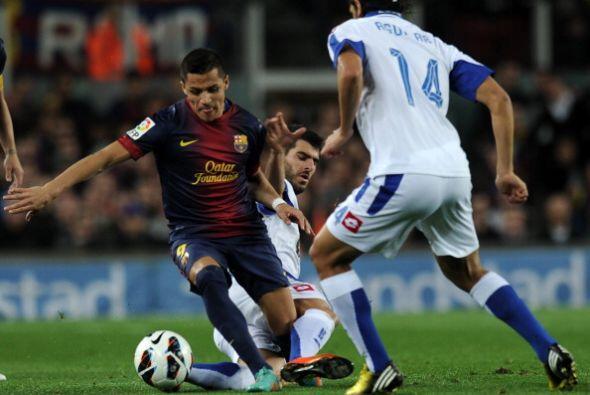 El dominio del Barcelona siguió.